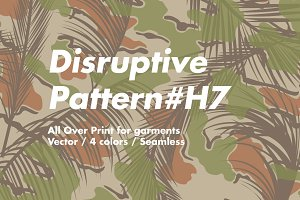 Disruptive Pattern #H7 Beach Camo