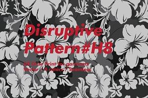 Disruptive Pattern #H8 Floral Camo