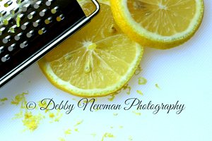 Lemon Zest Food Image