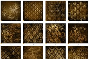 Gold Distressed Textures