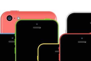 iPhone 5c Mockups