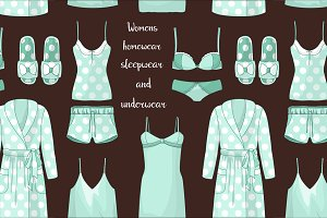 Women homewear pattern