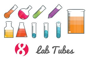 Lab Tube icons
