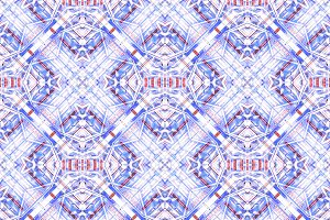 Futuristic Check Seamless Pattern