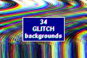 Glitch backgrounds. Screen error