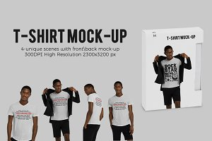 T-shirt Mock-up (African Model)
