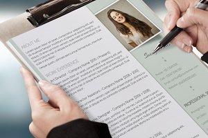 Sweet CV & Cover Letter