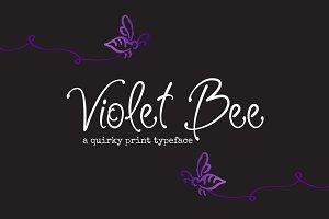 Violet Bee Font