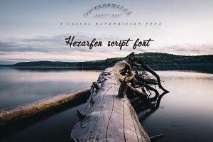 Hezarfen | Handwritten Font