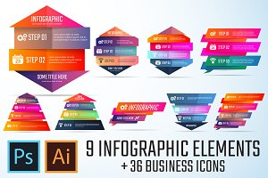 Infographics Template Vol.7
