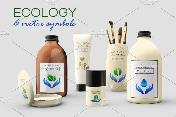 6 Ecology Symbols Logos