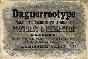 Daguerreotype Textures