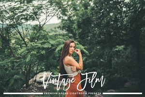 Vintage Film Lightroom Presets