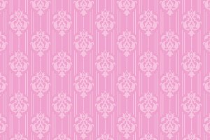 pink seamless damask pattern