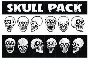 SKULL HEAD PACK