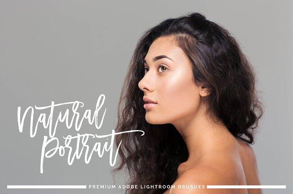 Natural Portrait Brushes Lightroom