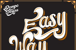 New!((EasyWay)) Font+Extra! :