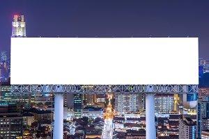 billboard for advertisement in city