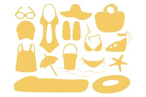 Summer and beach accessories