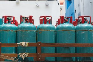 LPG cooking gas tank cylinders