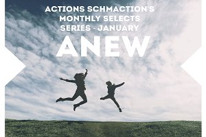 Monthly Photoshop Action - January