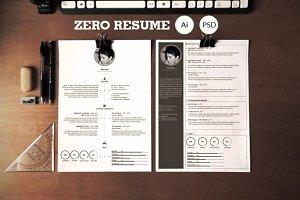 Zero | Clean Resume