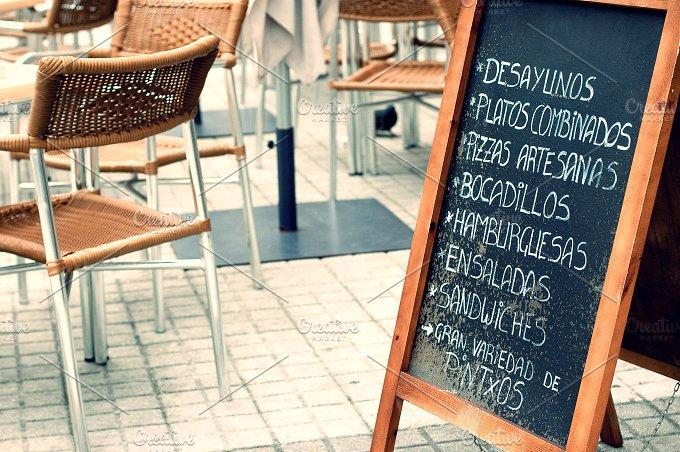 Tabloid with menu.jpg - Food & Drink