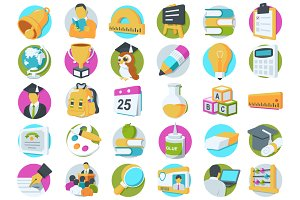 36 Education Icons