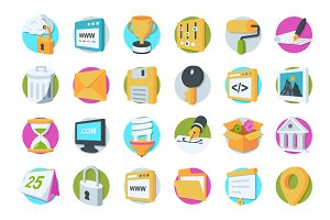 36 Web Design and Development Icons