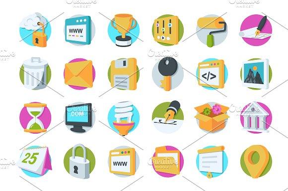 36 Web Design And Development Icons