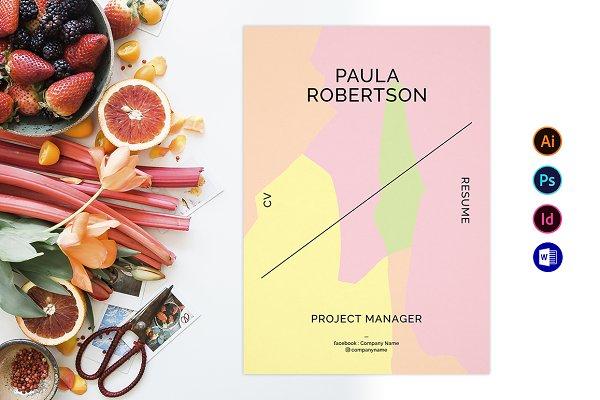 Resume / CV / Business Card! Fresh!