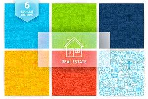 Real Estate Line Tile Patterns