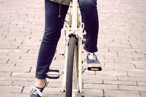Woman on retro bike.jpg