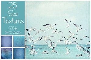 25 Sea Textures