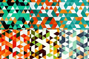Triangles grunge backgrounds