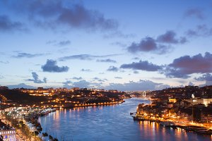 River Douro Between Gaia and Porto