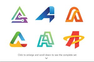 6 Best of Letter A Logos