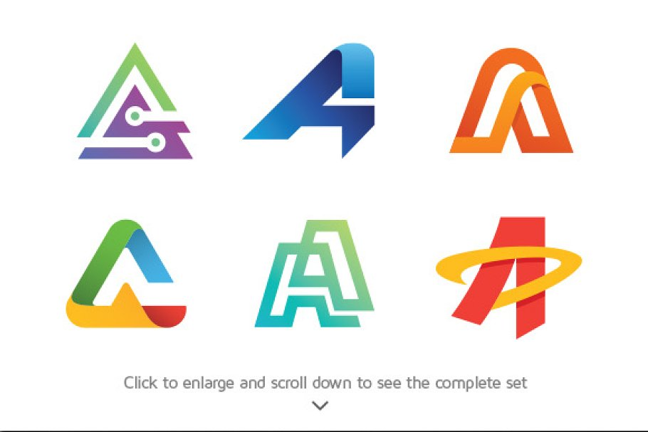 6 Best Of Letter A Logos Logo Templates Creative Market