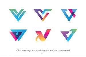 6 Best of Letter V Logos