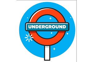 logo of the London Underground