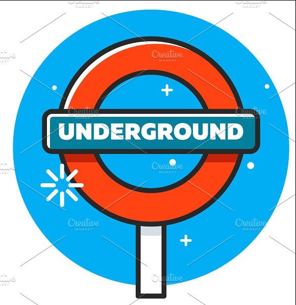 Logo Of The London Underground