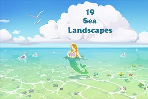 19 seascapes