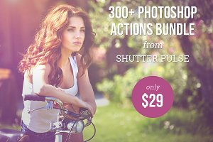 300+ Photoshop Actions Bundle