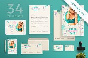 Branding Pack | Great Summer Sale