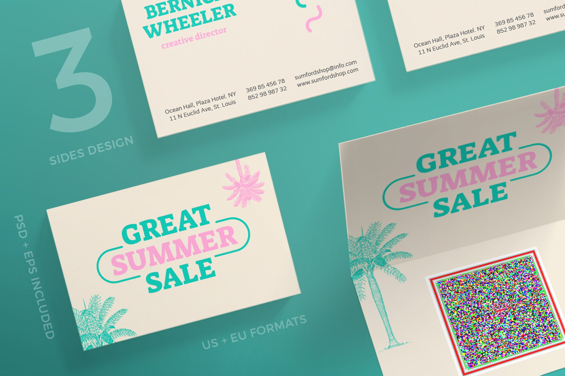 Business Cards | Great Summer Sale ~ Business Card Templates ...