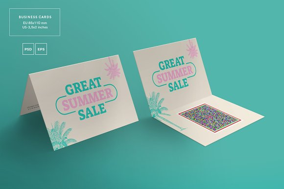 business cards great summer sale business card templates creative market - Business Cards For Sale