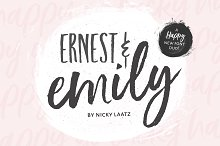 NEW!Ernest & Emily Font Duo