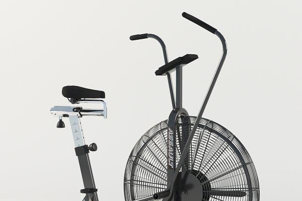 3D Appliances: 3Dpapa - Air bike trainer