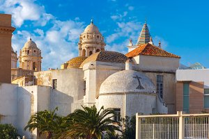 Cathedral in Cadiz, Andalusia, Spain