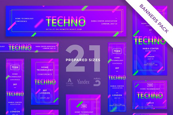 Banners Pack | Home Tech